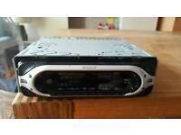 Sony Car Stereo CD/FM/AM Full Face Off