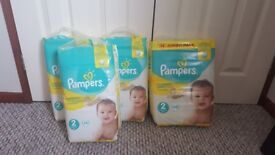 Pampers Nappies Size 2 230pcs