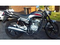 Lexmoto 125cc learner legal motorbike