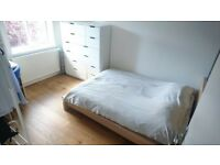Large Double Bedroom in clean and professional house