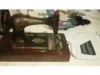 Original vintage SINGER sewing machine