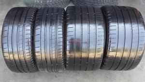 Stag'd SET of 4 ~~~ 235/35R19 & 305.30R19 Michelin Super Sport ~~~ Porsche 911 Turbo Origina SUMMERl~ 80%tread