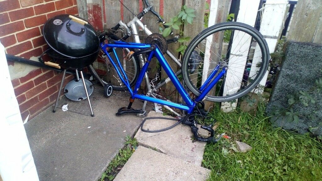 Metallic Blue Road Bike