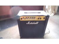 Marshall MG 15cd perfect beginner amp of for practice. Good condition all works as should.