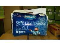 Silent Night Soft Like Down Double Duvet 4.5 Tog