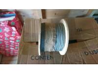 100m of 3mm 6x19 galvanized wire