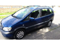 2004 Vauxhall Zafira 7 Seater One Former Keeper Excellent Family Car