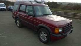 landrover discovery td5 2002 registration, 2.5 turbo diesel , 146,000 miles, new mot