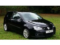 2008 Volkswagen Golf GT TDI 170 BHP ,6 Speed Manual, F/S/History ,(Vw ,Bora,Polo, Audi,A3, A4 ,VRS)