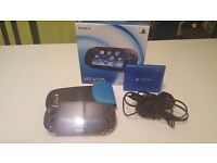 PS Vita Wifi OLED Model + 64 GB Vita Memory Card