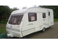 Touring Caravan Bailey Ranger 510-4 2001 4 birth