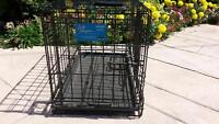 METAL WIRE CAGE PET ANIMAL CARRIER LIKE NEW!