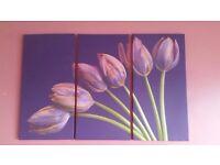 Wall Canvas Wall Art Flower Floral