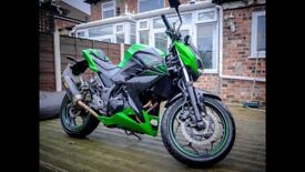2016 Kawasaki Z300 Performance Edition - 2891 miles - Akrapovic Exhaust - Priced for a quick sale!