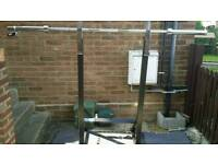Wolverson Squat Dipping Stand and 6 ft Barbell with Collars