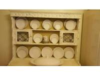 Shabby chic ornate solid wood dresser top