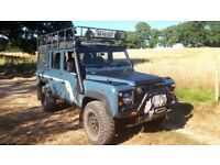 Very reluntant sale of my old faithful landy, 300tdi, fsh, mot, expedition ready, loads of extras