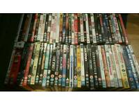 Selection of 71 dvds