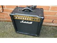 Marshall guitar amp 45 wat in good condition!can deliver or post
