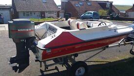 SPEED BOAT 14ft 50HP Mariner