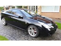 """Toyota Celica 1.8vvti Coupe """"Red"""" Edition 2006. Low mileage, full service history and red leather."""