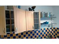 Fitted kitchen cabinets - B&Q Chilton Beech Range