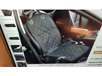 CAR PET FRONT SEAT COVER.WATERPROOF.PADDED.SIDE FLAPS NEW