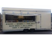 A RARE OPPORTUNITY TO PURCHASE A LONG ESTABLISHED CATERING TRAILER BUISSNESS