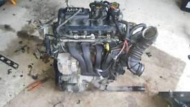 Mini one 1.6 engine