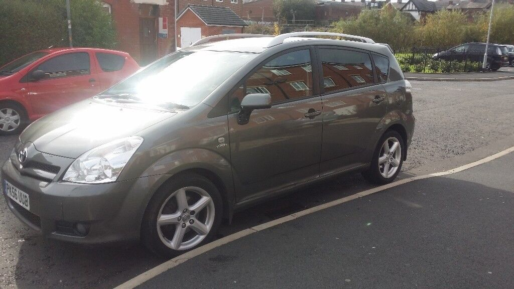 TOYOTA COROLLA VERSO T180.7 SEATER FAMILY CAR. VERY GOOD CONDITION, EXCELLENT DRIVE. RELIABLE CAR.