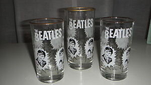 Beatles 1964 Dairy Queen glass(es)