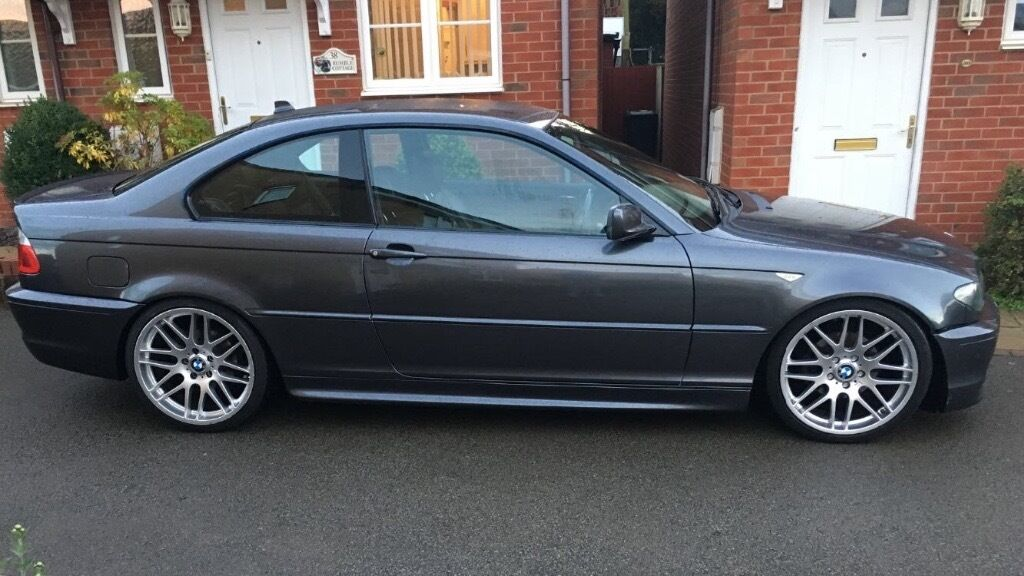 bmw 2005 bmw 3 series e46 coupe 318ci msport in kettering northamptonshire gumtree. Black Bedroom Furniture Sets. Home Design Ideas