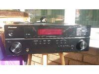 Pioneer VSX1019AHK 7.1 Channel AV Receiver with HD Audio, PQLS, iPod/iPhone USB & 1080p Upscaling