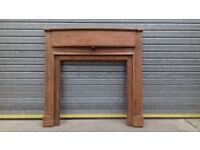Oak fire surround