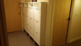 IKEA Shoe Storage Cabinets - Very good condition - White