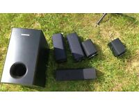 Samsung Home Entertainment - 6x black 350w speakers