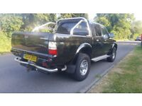 MITSUBISHI L200 Warrior 2.5 King Double Cab 4x4 Pickup 2004 94,500 miles