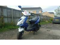 Direct bikes 125 4 stroke 2010 low miles mot drive away great moped scooter