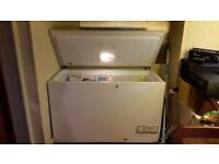 Chest Freezer, 130cm (w) 85cm (h) 65cm (d). Hotpoint, frost free, still in use until replacement.