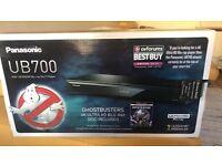 Panasonic UB700 Blu-ray Disc Player. Sealed