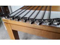 Taylor Made Burner Irons Graphite Shafts 4-SW