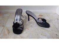 Black Faith shoes, size 4