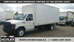 2012 Ford E-350 16Ft Box + Ramp 5.4L V8 Gasoline