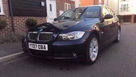 2007 BMW 325i AUTOMATIC, 67K MILEAGE, FULL SERVICE HISTORY, LEATHER, HPI CLEAR