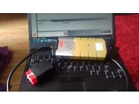 Bluetooth car and jeep diagnostic laptop