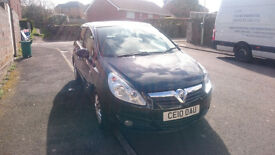 ****REDUCED**** BLACK 1.3 VAUXHALL CORSA ACTIVE ECOFLEX CDTI 2010