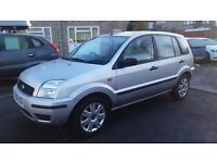 1.4 FORD FUSION 5DOOR 2004 YEAR 45000 MILE HISTORY MOT22/11/17 1 OWNER AUTOMATIC 12 MONTH AA COVER