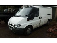 tatty repairs spairs 2006 transit 85swb fwd px clearance