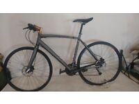 Ridgeback flight 02. Amazing bicycle. Not specialized giant trek carrera. Road and off road hybrid