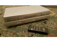 Sharp VCR Player with Remote